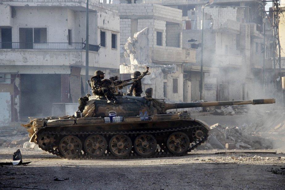 Samedi, 69 personnes avaient été tuées en Syrie,... (PHOTO ARCHIVES AFP)
