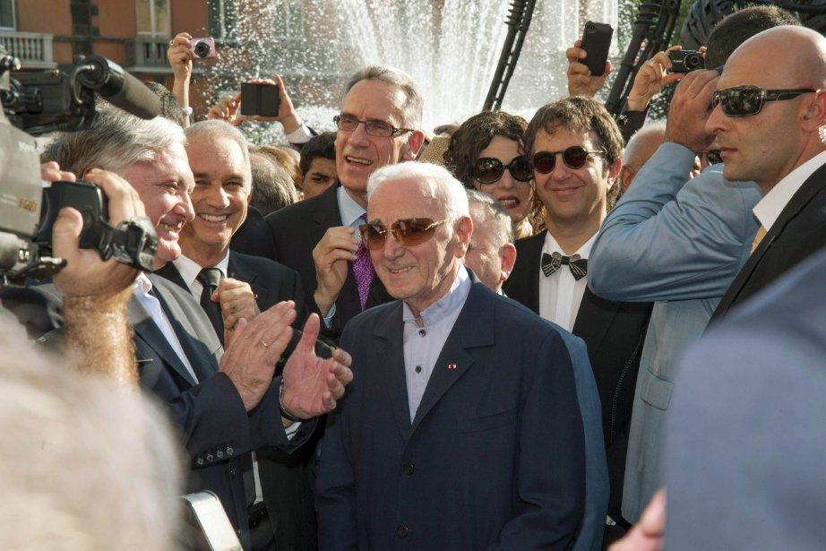 Charles Aznavour... (PHOTO KAREN MINASYAN, AFP)