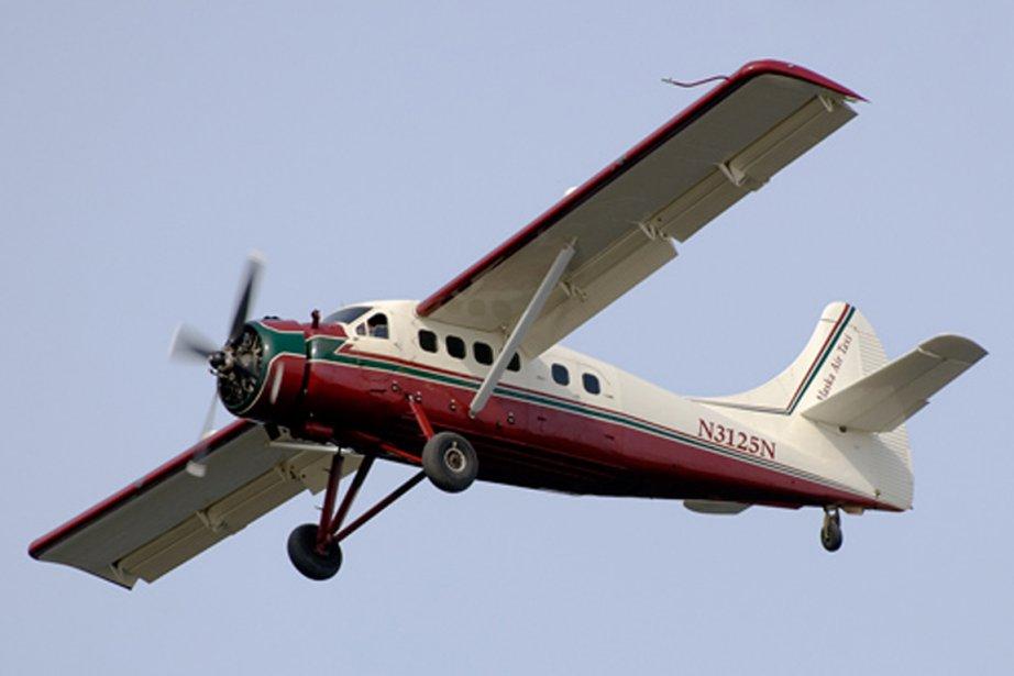 L'avion, un De Havilland DHC-3 Otter de la... (PHOTO OLDWINGS.NL)