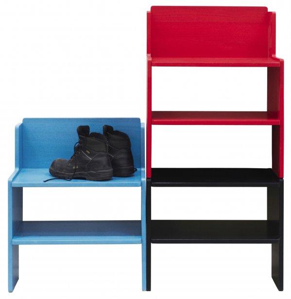 Tendances meubles retour au naturel couleurs acidul es - Banc de rangement ikea ...