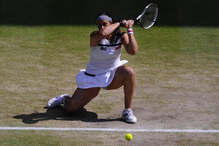 Marion Bartoli, la gagnante du dernier tournoi de... (Photo : Adrian Dennis, AFP)