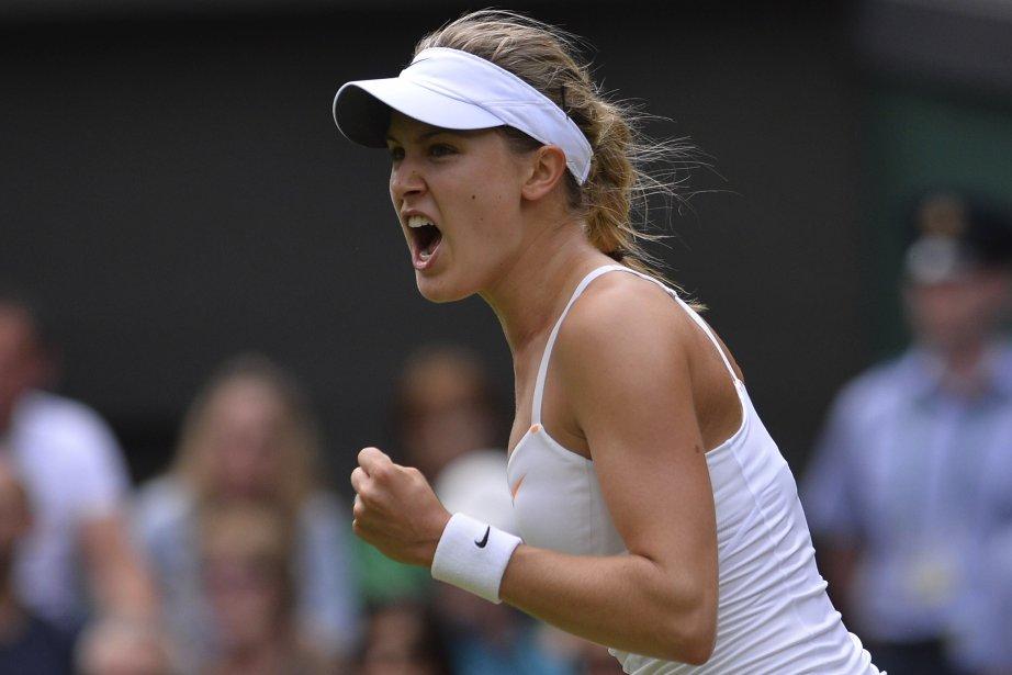 Eugenie Bouchard a atteint le troisième tour à... (Photo : archives AFP)
