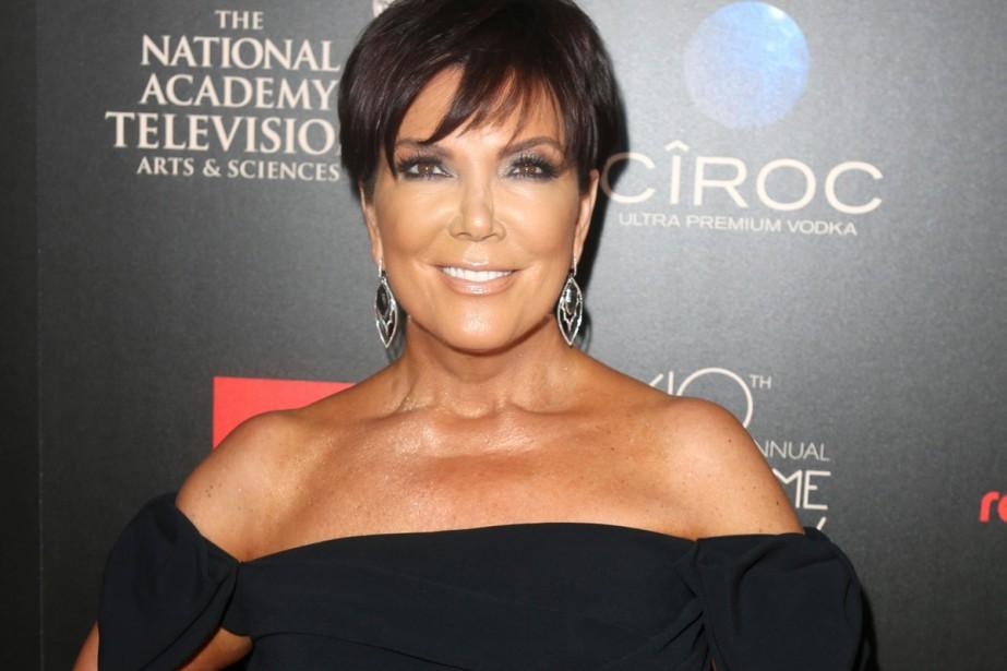 Kris Jenner est la mère de la vedette... (Photo: AP)