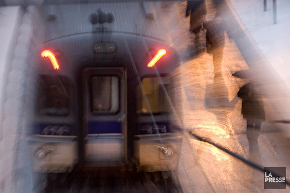 Le train de banlieue de la ligne Deux-Montagne,... (Photo: David Boily, archives La Presse)