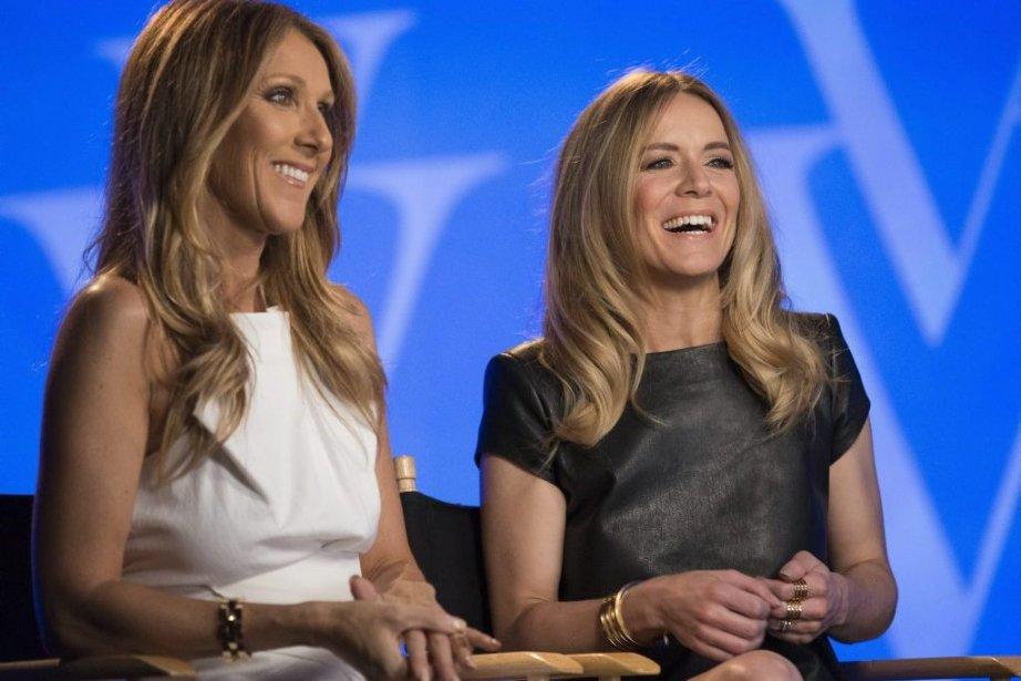 Céline Dion et Véronic DiCaire... (Photo: AP)