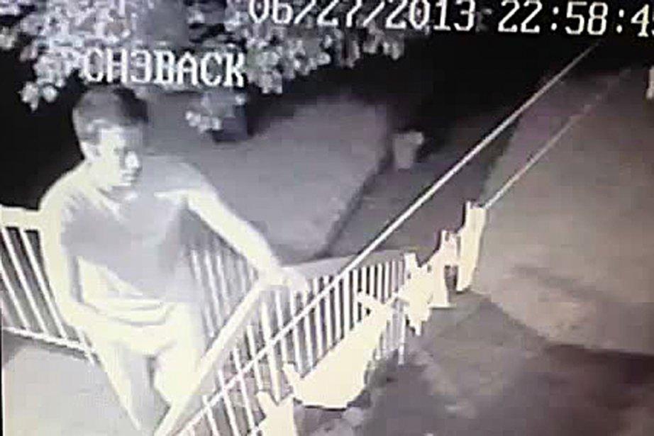 Depuis un an, un voleur sévit dans un quadrilatère... (PHOTO FOURNIE PAR LE SPVM)