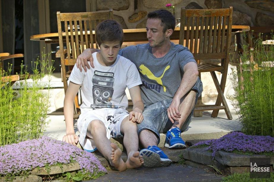 Le jeune Édouard Gagnon, 13 ans, a perdu... (Photo Patrick Sanfaçon, La Presse)