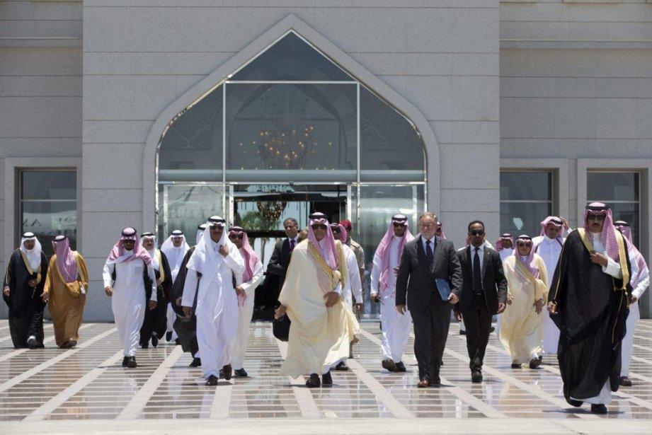 L'Arabie saoudite et les Émirats arabes unis ont... (Photo Jacquelyn Martin, REUTERS)