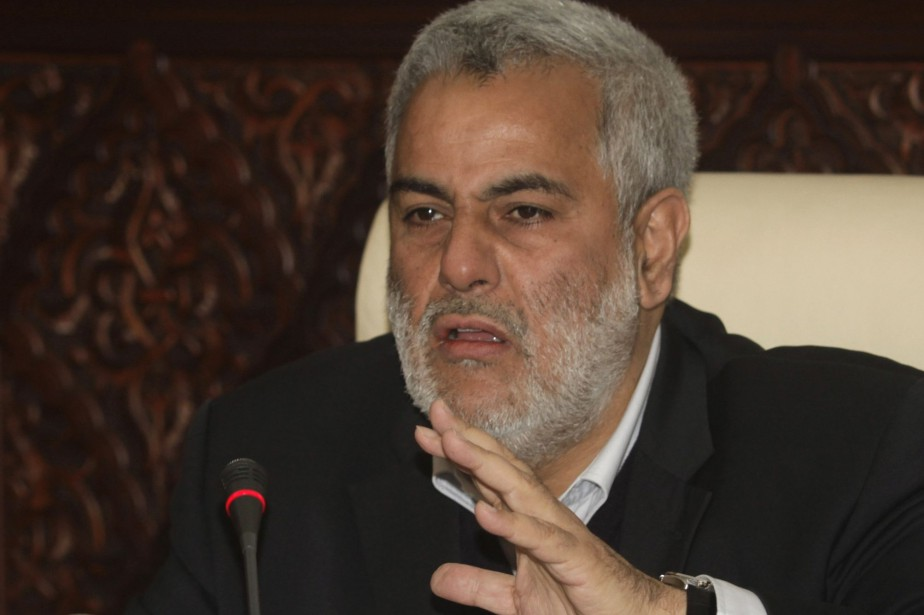 Lechef du gouvernement marocain Abdelilah Benkirane.... (Photo Stringer, Reuters)