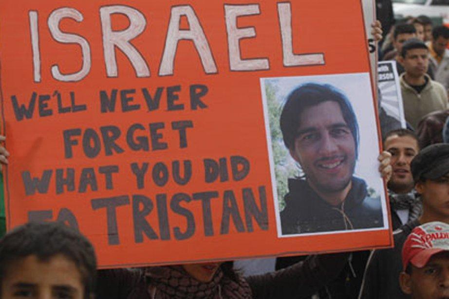 Tristan Anderson avait été touché en pleine tête... (PHOTO NASSER SHIYOUKI, AP VIA GUARDIAN.CO.UK, ARCHIVES)