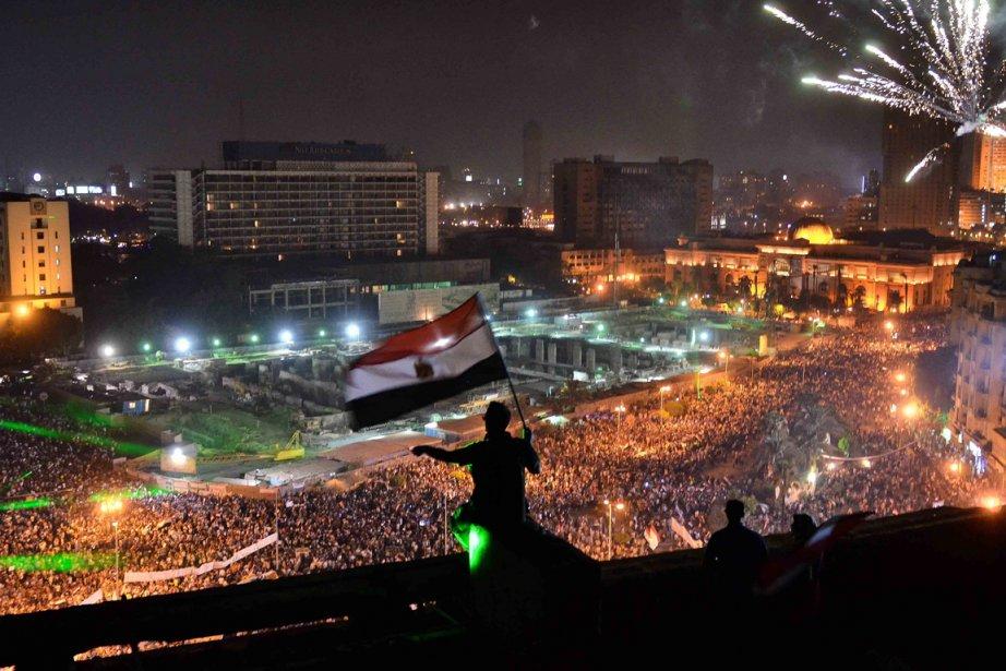 La porte-parole du département d'État Jennifer Paski a... (PHOTO MOHAMED EL-SHAHED, AFP)