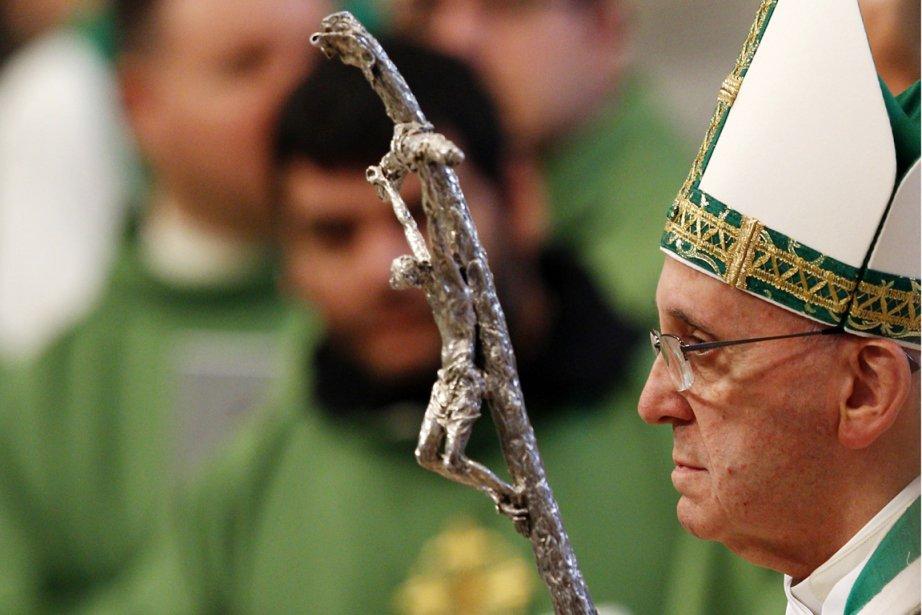Le pape Françoit a durci le ton face... (PHOTO RICARDO DE LUCA, AP)