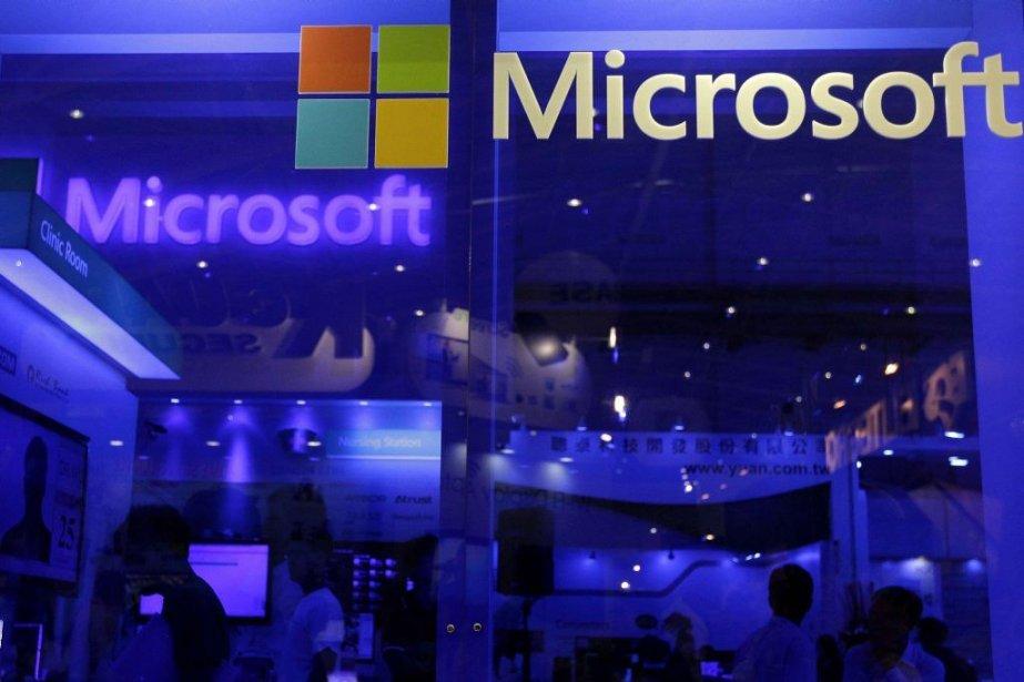 Microsoft va augmenter de 22% le dividende trimestriel... (PHOTO PICHI CHUANG, REUTERS)