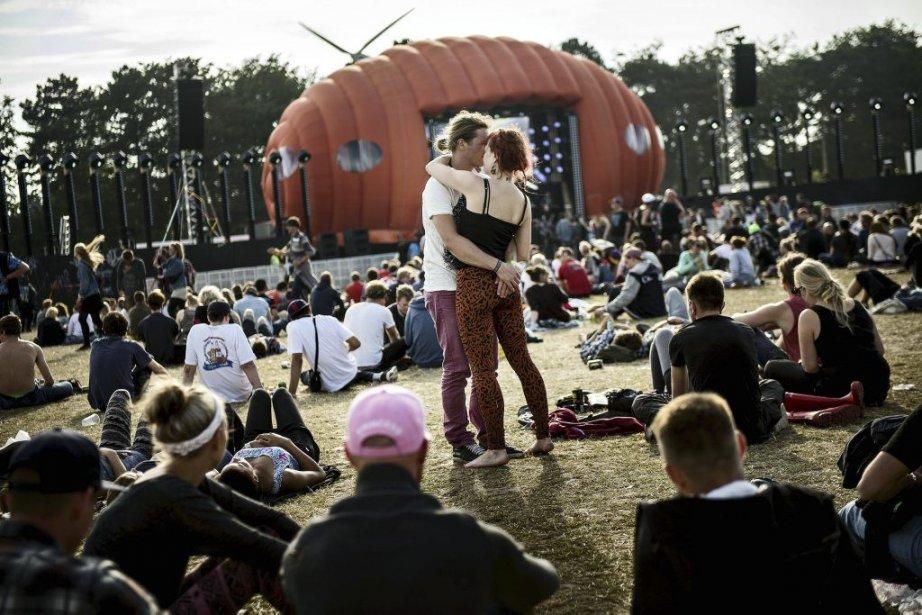 Le festival Roskilde est l'un des plus importants... (Photo: AFP)