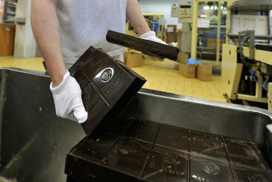 Barry Callebaut se retrouve dans un produit en... (PHOTO GEORGES GOBET, AFP)