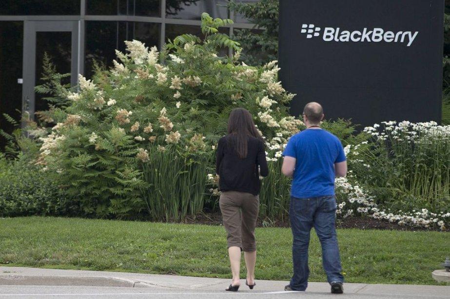 Le siège social de BlackBerry à Waterloo, en... (La Presse Canadienne)
