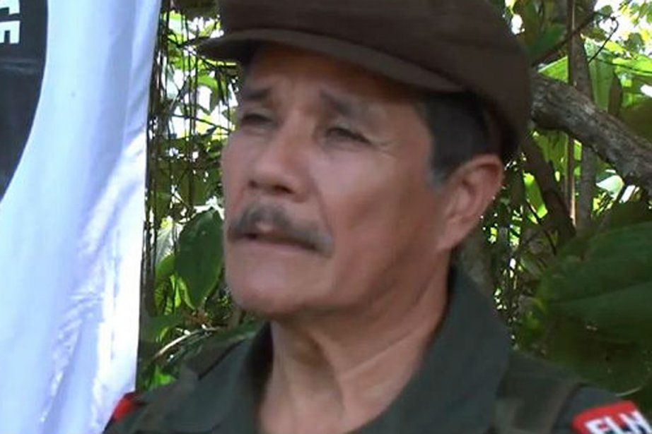 Le chef suprême de l'ELN Nicolas Rodriguez Bautista.... (PHOTO TIRÉE DE SEMANA.COM)
