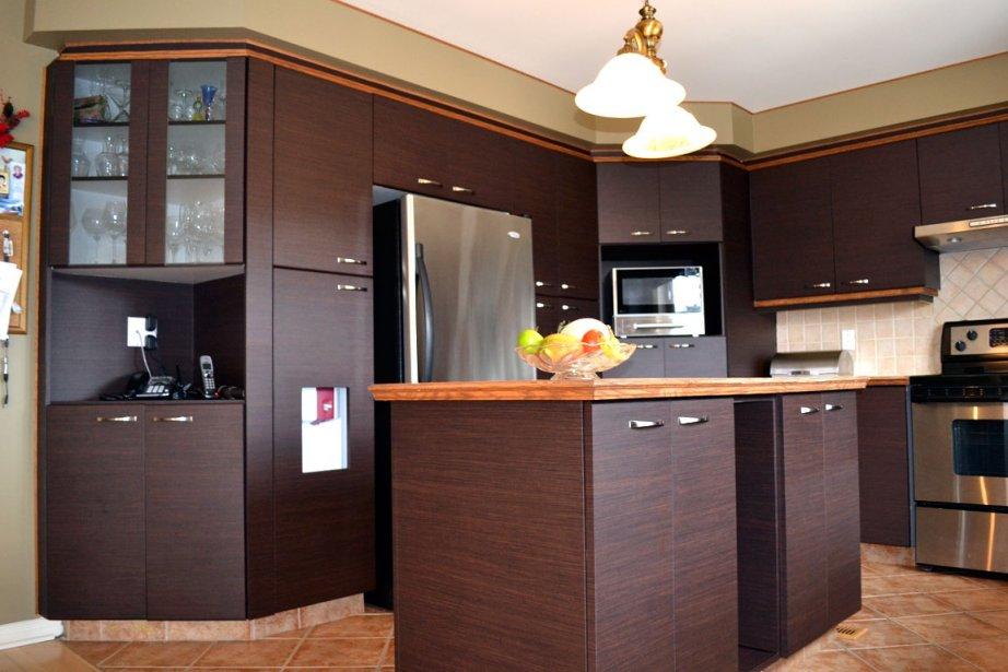 d co vinyle autocollant armoire cuisine pau 8369. Black Bedroom Furniture Sets. Home Design Ideas