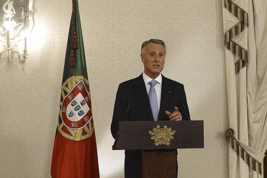 Le président Anibal Cavaco Silva.... (Photo Francisco Leong, AFP)