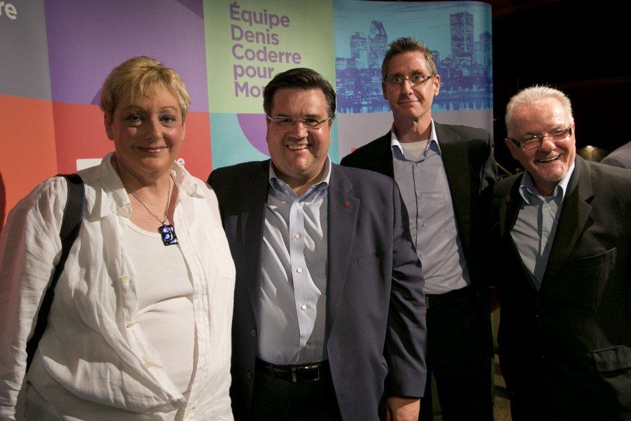 De gauche à droite : Ruth Rosenfield, Denis... (PHOTO HUGO-SÉBASTIEN AUBERT, LA PRESSE)