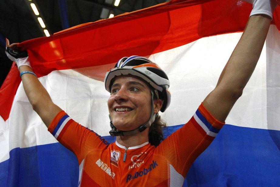 Vos, la championne olympique en titre de la... (Photo : archives Reuters)