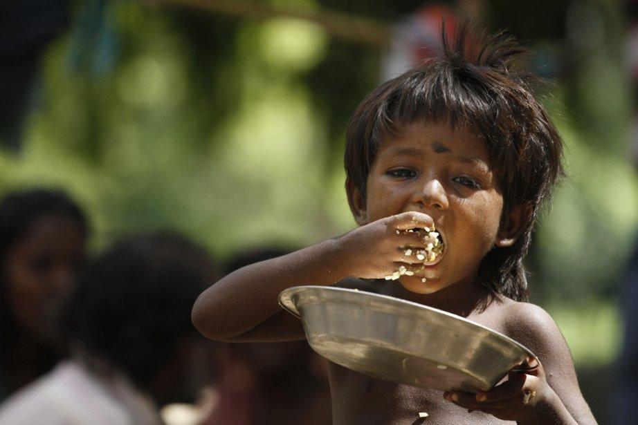 Malgré une croissance économique soutenue, des millions d'Indiens... (PHOTO AP)