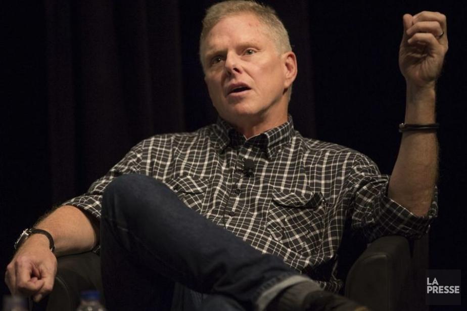 Todd Hallowell, producteur délégué sur le tournage du... (Photo: Olivier Pontbriand, La Presse)