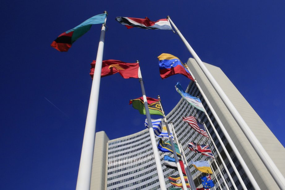 L'édifice de l'ONU où est installée l'Agence internationale... (Photo: archives AFP)