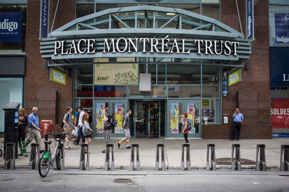 Centre-ville de Montréal... (PHOTO OLIVIER PONTBRIAND LA PRESSE)