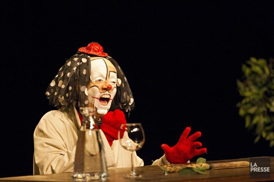 Le 6ejourmet en scène Arletti, personnage poétique et... (Photo Anne Gauthier, La Presse)