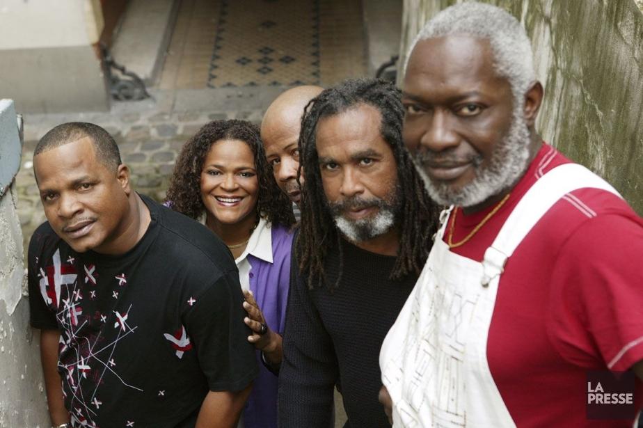 Le groupe Kassav'... (Photo Archives La Presse)