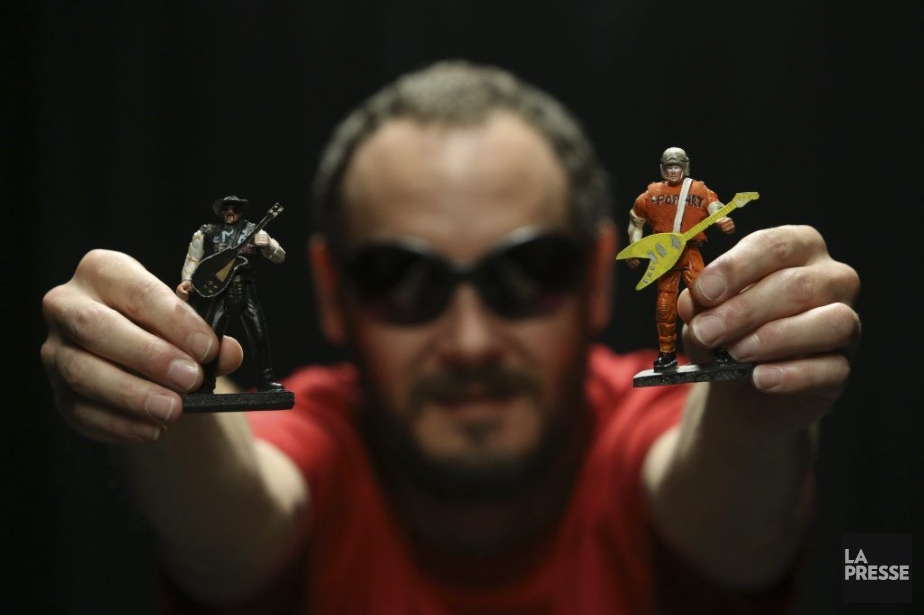 Stéfan Cédilot est auteur et metteur en scène... (Photo Martin Chamberland, La Presse)