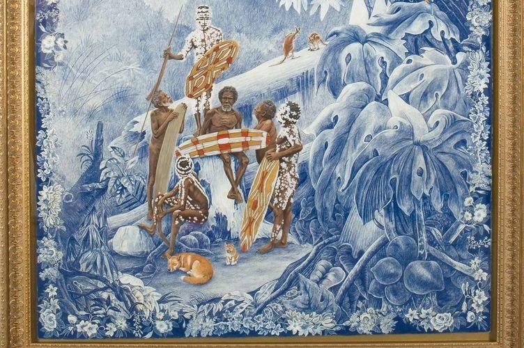 L'exposition Sakahàn présente des oeuvres d'artistes autochtones de... (Photo fournie par le MBAC)