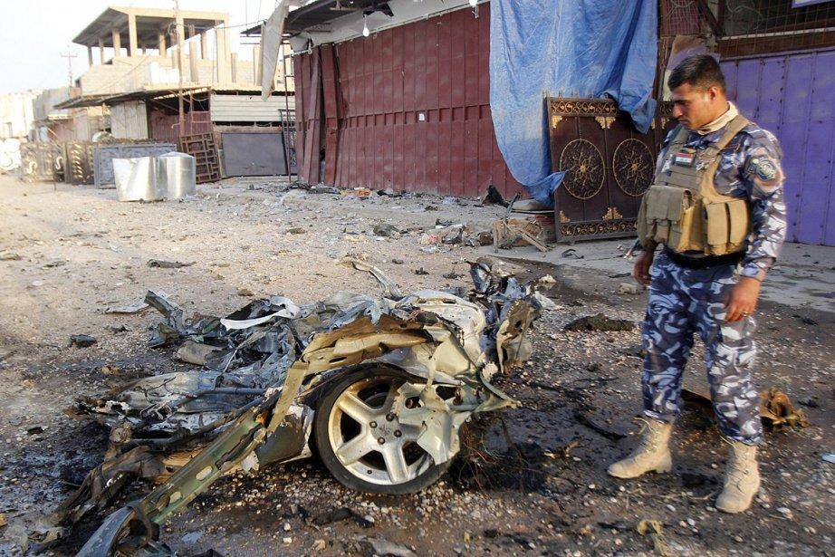 La montée de la violence en Irak a... (Photo: AFP)