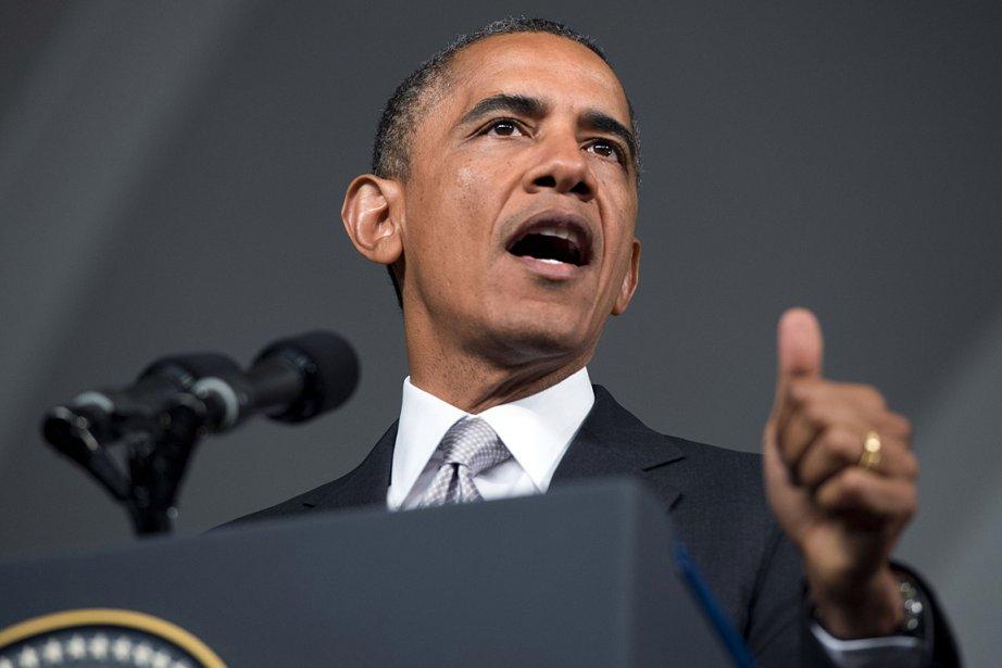 Le président américain Barack Obama.... (Photo: archives AFP)