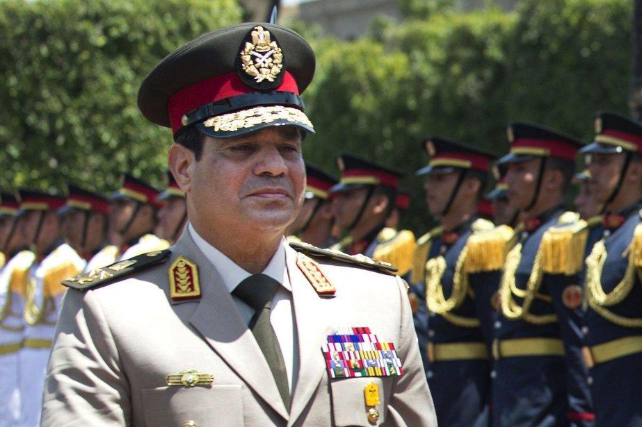 Le général Abdel-Fattah el-Sissi.... (Photo Jim Watson, AP)