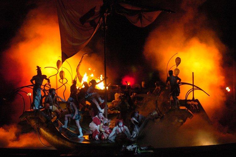 Le spectacle Kà du... (Photo: Martin Chamberland, archives La Presse)