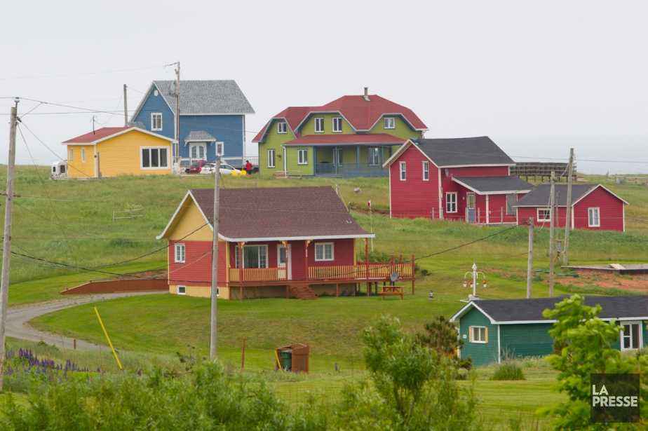 La mode des maisons aux couleurs multiples et... (Photo Alain Roberge, La Presse)