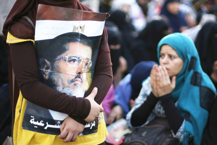 Depuis sa destitution par l'armée, le 3 juillet,... (PHOTO SUHAIB SALEM, REUTERS)