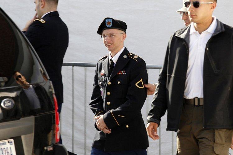 Bradley Manning a reconnu avoir transmis plus de... (Photo: Reuters)
