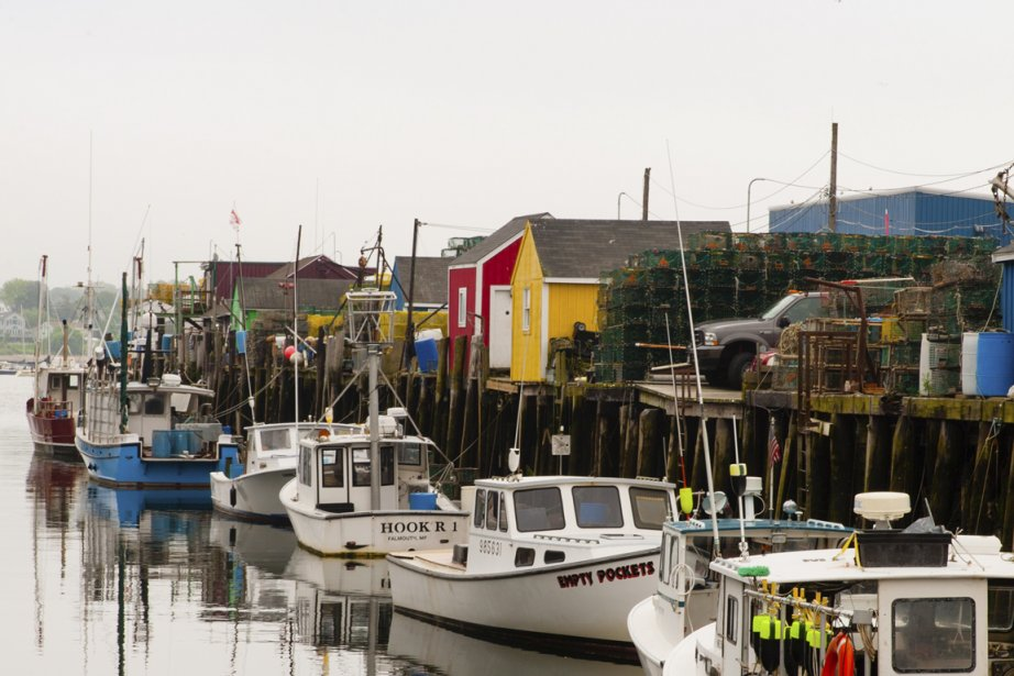 Le port de Portland (Photo Anne Gauthier, La Presse)