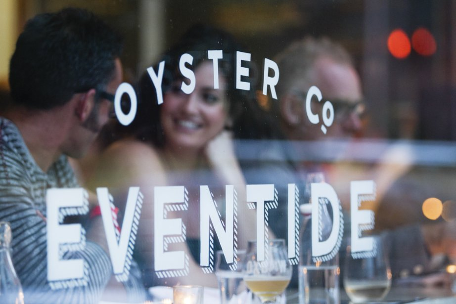Le restaurant Eventide (Photo Anne Gauthier, La Presse)