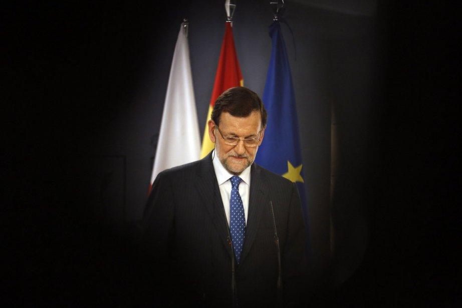 Mariano Rajoy, premier ministre espagnol.... (Photo Reuters)