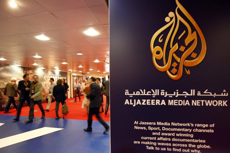 Le logo de la chaîne médiatique Al-Jazira.... (Photo Reuters)