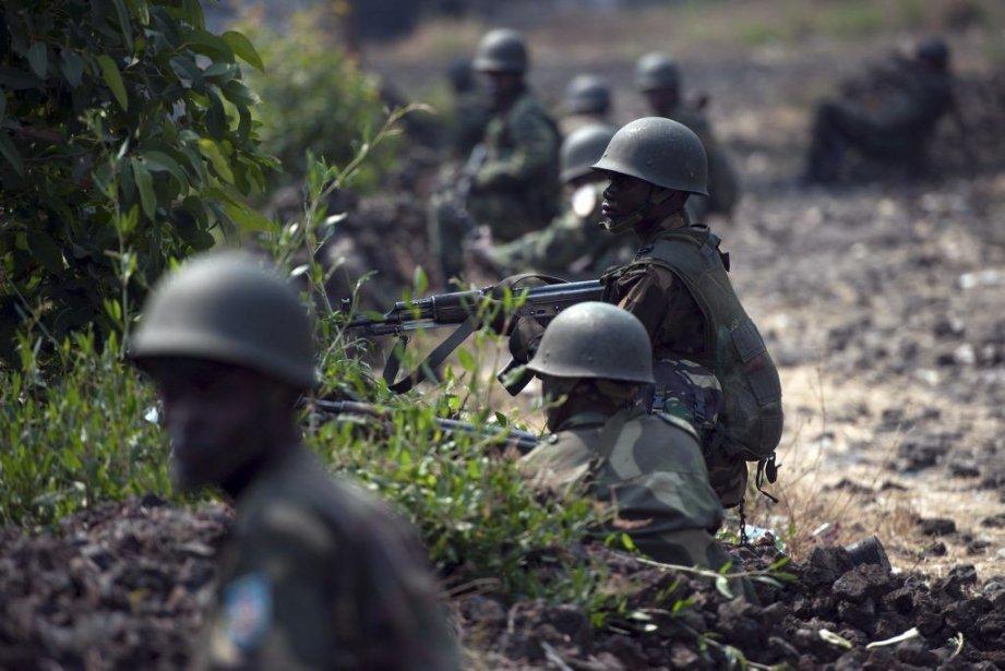 Le but des forces armées congolaises est «d'anéantir... (Photo PHIL MOORE, AFP)
