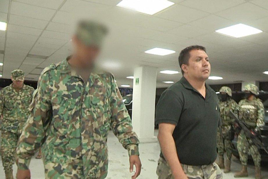 Le chef du cartel des ZetasMiguel Angel Treviño... (PHOTO REUTERS/SEMAR)