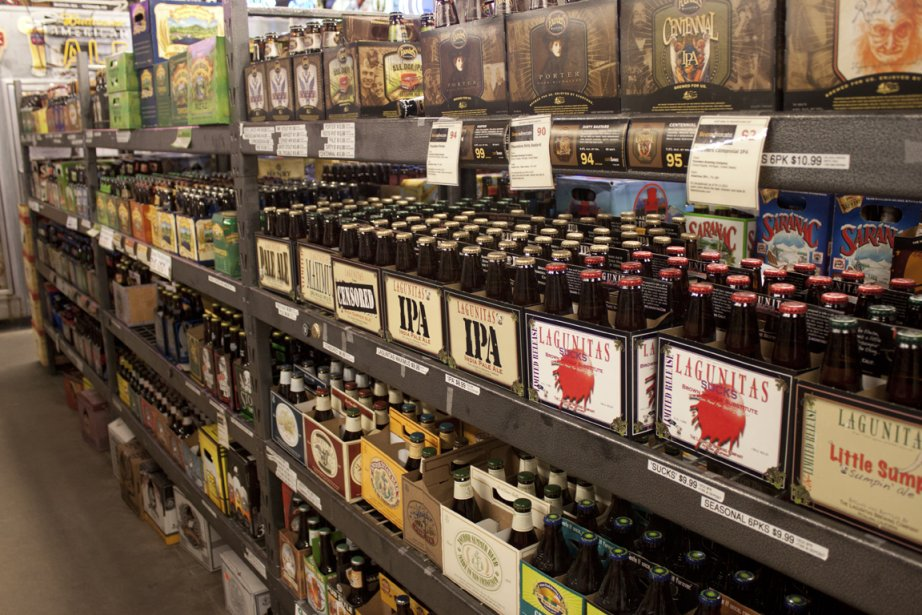 Beverage Warehouse (Photo Catherine Schlager, La Presse)