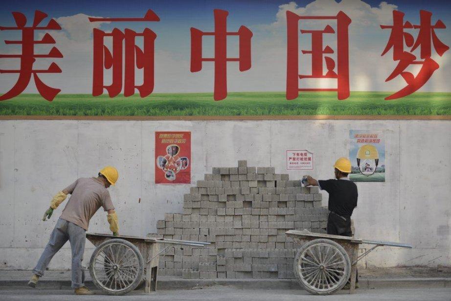 La Chine, qui avait enregistré en 2012 sa... (PHOTO PETER PARKS, AFP)