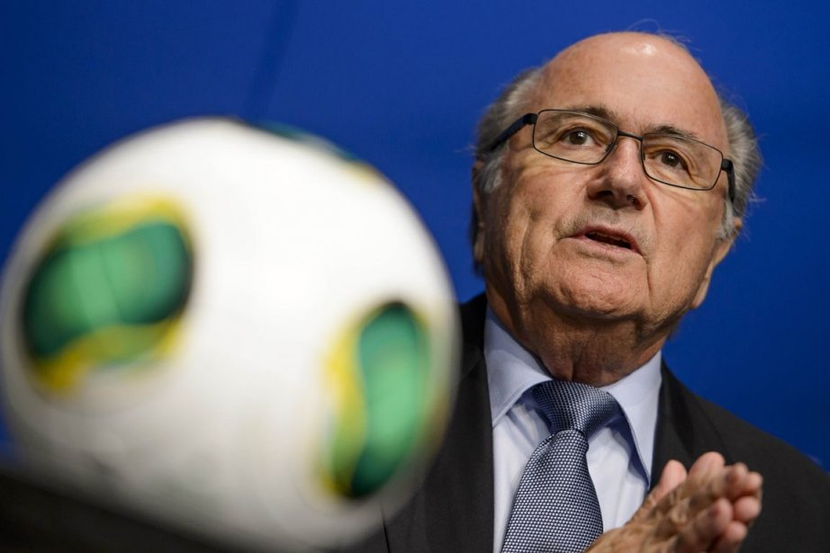 Le président de la FIFA, Sepp Blatter.... (Photo Fabrice Coffrini, archives AFP)