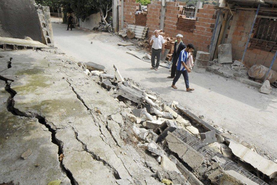 L'épicentre de cette secousse a été localisé à... (Photo AP)